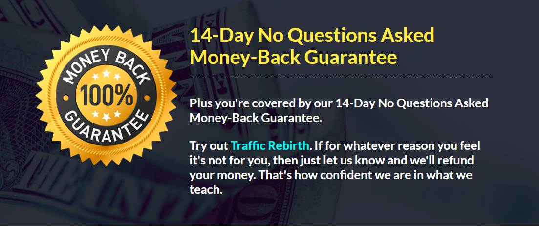 traffic rebirth review guarantee